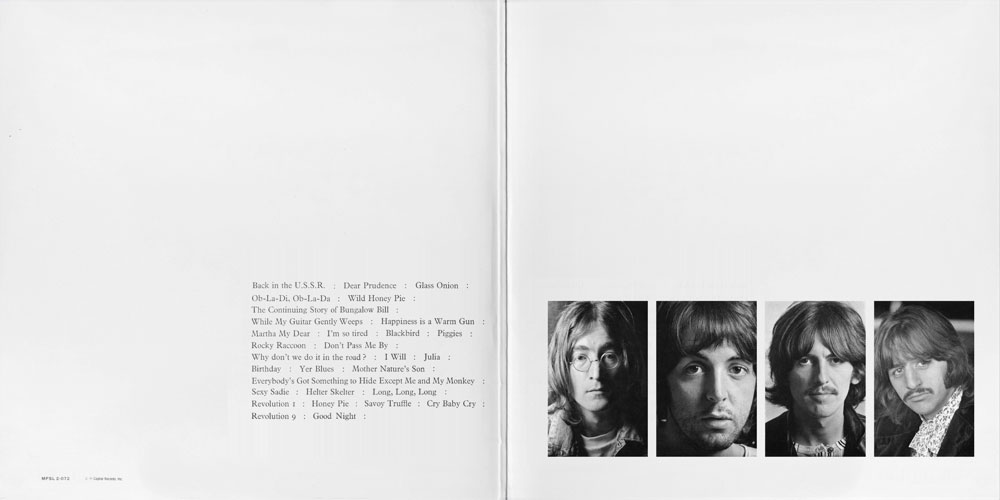 Album Review The Beatles White Album Experience Delivers
